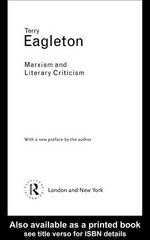Marxism and Literary Criticism 2nd edition 9780203361771 0203361776
