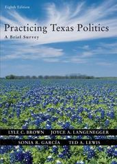Practicing Texas Politics 8th edition 9780618437436 0618437436