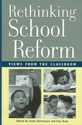 Rethinking School Reform 0 9780942961294 0942961293