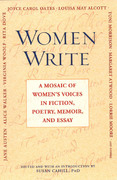 Women Write: A Mosaic Of Women's Voices in Fiction, Poetry,Memoir andEssay 0 9780451211217 0451211219