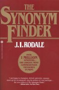 The Synonym Finder 1st Edition 9780446370295 0446370290