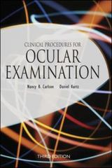 Clinical Procedures for Ocular Examination, Third Edition 3rd edition 9780071370783 0071370781