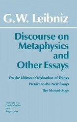 Discourse on Metaphysics and Other Essays 1st Edition 9781603848589 1603848584