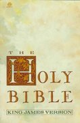 Holy Bible, King James Version 1st Edition 9780452010628 0452010624