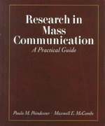 Research in Mass Communication 1st edition 9780312191627 0312191626