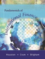 Fundamentals of International Finance (with Thomson ONE and InfoTrac) 1st edition 9780324180183 0324180187