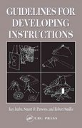 Guidelines for Developing Instructions 1st Edition 9780203299852 020329985X