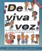 ¡De viva voz!: An Intermediate Conversation and Grammar Review Course (Student Edition + Listening Comprehension Audio CD) 1st edition 9780072437393 0072437391