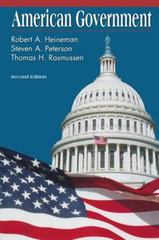 American Government 2nd Edition 9780070282155 0070282153