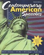 Contemporary American Speeches 9th edition 9780787258054 0787258059