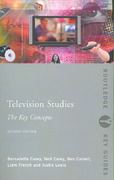 Television Studies: The Key Concepts 2nd edition 9781134195718 1134195710