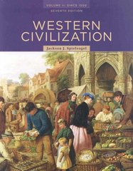 Western Civilization: Volume II: Since 1500 (Western Civilization to 1500) 7th edition 9780495502876 0495502871