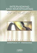 Interviewing and Investigating 2nd edition 9780735540675 0735540675
