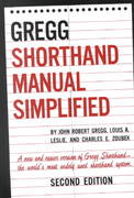 The GREGG Shorthand Manual Simplified 2nd edition 9780070245488 0070245487