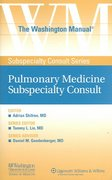 The Washington Manual® Pulmonary Medicine Subspecialty Consult 1st edition 9780781743761 0781743761