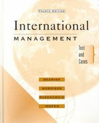 International Management 4th edition 9780072290721 0072290722