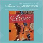 Digital Music and Opera Clips CD-ROM to accompany Kamien's Music: An Appreciation and Music: An Appreciation Brief 6th edition 9780077212698 007721269X