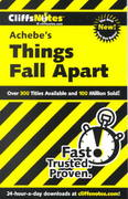 CliffsNotes on Achebe's Things Fall Apart 1st Edition 9780764586477 0764586475