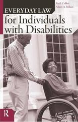 Everyday Law for Individuals with Disabilities 1st Edition 9781594511455 1594511454