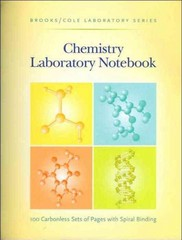 General Chemistry Laboratory Notebook 1st edition 9780875402475 087540247X