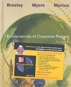 Fundamentals of Corporate Finance w/CD + PowerWeb + Study Guide 3rd edition 9780072539943 0072539941
