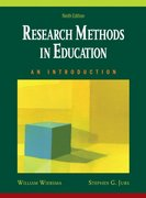 Research Methods in Education 9th Edition 9780205581924 0205581927