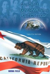 California Government and Politics Today 12th edition 9780205620074 0205620078