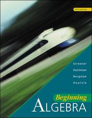 Beginning Algebra 5th edition 9780072316933 0072316934