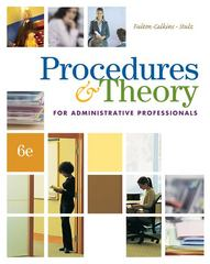 Procedures & Theory for Administrative Professionals (with CD-ROM) 6th Edition 9780538730525 0538730528