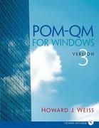 POM - QM v 3 for Windows Manual 3rd edition 9780132217729 0132217724