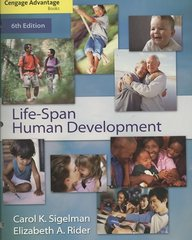 Cengage Advantage Books: Life-Span Human Development 6th edition 9780495506157 049550615X
