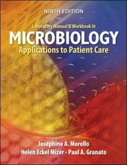 Laboratory Manual and Workbook in Microbiology 9th edition 9780072995756 0072995750