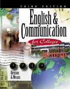 English & Communication for Colleges 3rd edition 9780538723039 0538723033