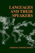 Languages and Their Speakers 1st Edition 9780812212501 0812212509