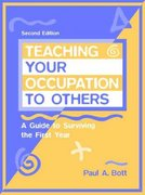 Teaching Your Occupation to Others 2nd Edition 9780205271016 0205271014