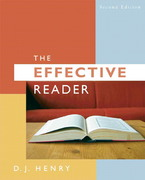 Effective Reader, The (with MyReadingLab Access Code Card) 2nd edition 9780205606702 0205606709