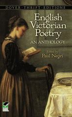 English Victorian Poetry 1st Edition 9780486404257 0486404250