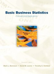 Basic Business Statistics 11th edition 9780136032601 0136032605