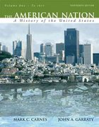 The American Nation 13th edition 9780205568055 020556805X