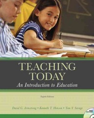 Teaching Today 8th edition 9780131595521 0131595520