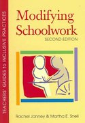 Modifying Schoolwork, Second Edition 2nd Edition 9781557667069 1557667063