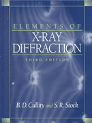 Elements of X-Ray Diffraction 3rd edition 9780201610918 0201610914