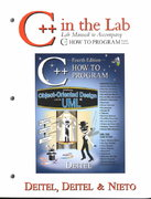 C++ in the Lab 4th edition 9780130384782 013038478X