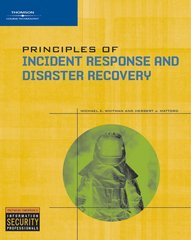 Principles of Incident Response and Disaster Recovery 1st edition 9781418836634 141883663X