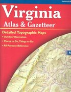 Virginia Atlas and Gazetteer 4th edition 9780899333267 0899333265