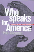 Who Speaks for America? 801st edition 9780801435744 0801435749