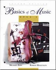 Basics of Music 2nd edition 9780028730127 0028730127