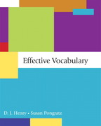 Effective Vocabulary 1st Edition 9780321410719 0321410718
