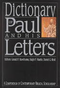 Dictionary of Paul and His Letters 1st Edition 9780830817788 0830817786