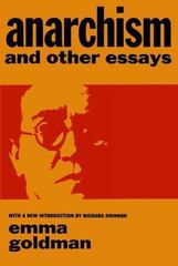 Anarchism and Other Essays 1st Edition 9780486224848 0486224848